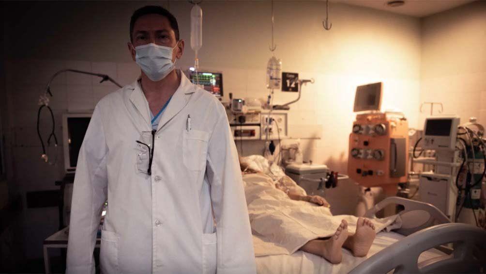 Coronavirus en Argentina: alta ocupación de terapias.