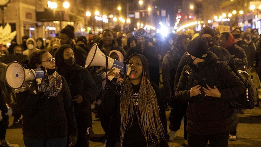 Hubo manifestaciones en Ohio, Estados Unidos, contra la violencia policial y el racismo.