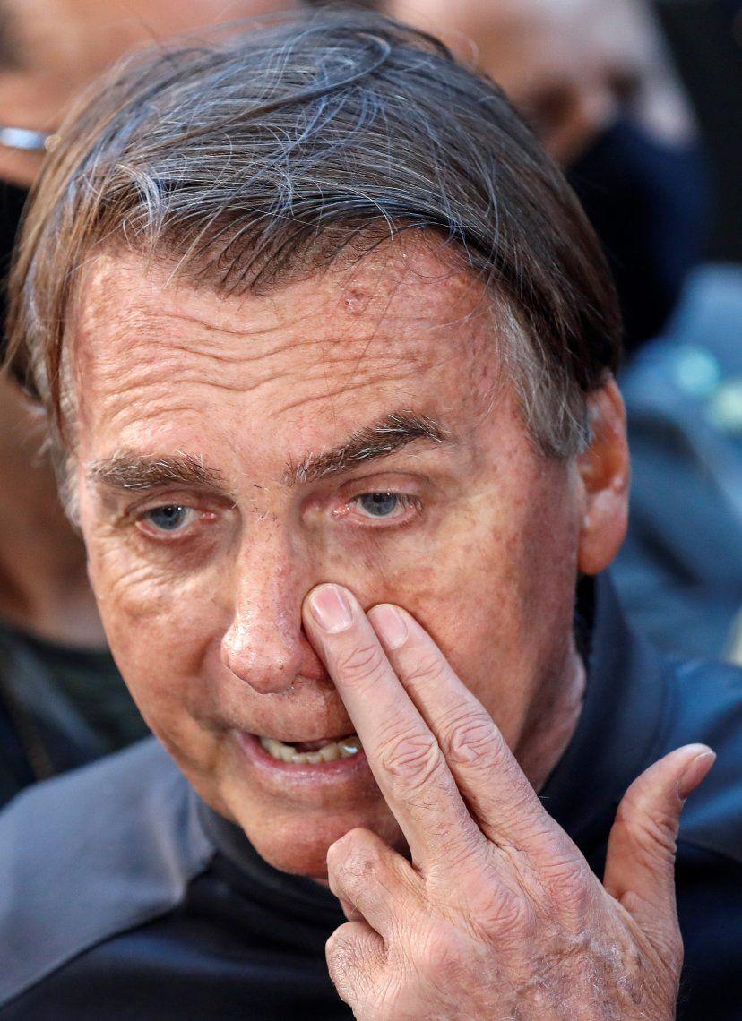 Bolsonaro dijo que no quiso agredir a la Justicia de Brasil.