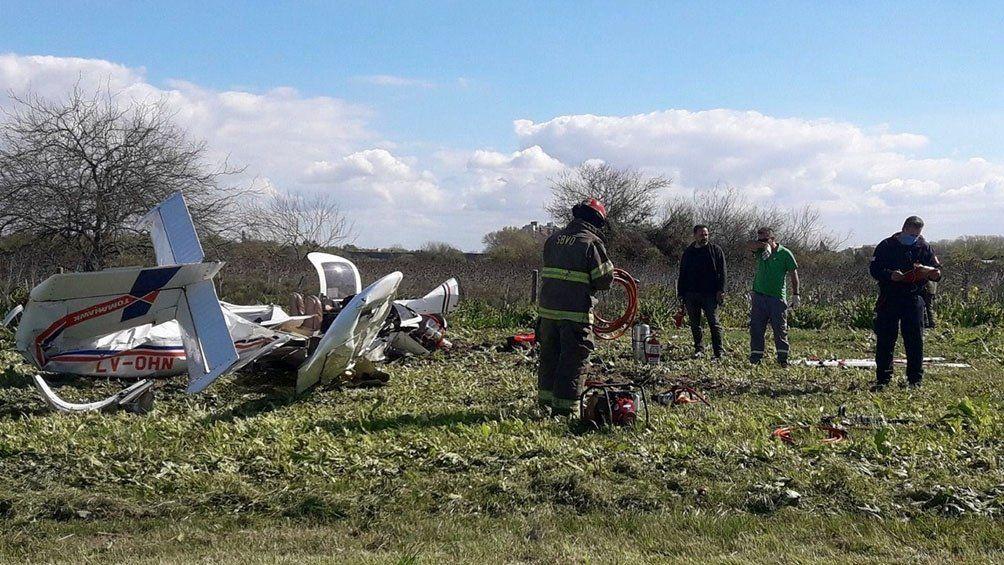 Dos muertos al caer una avioneta.