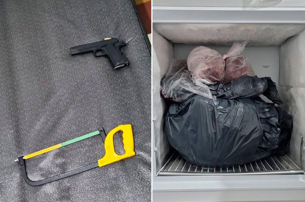 En la casa del acusado se secuestraron una pistola