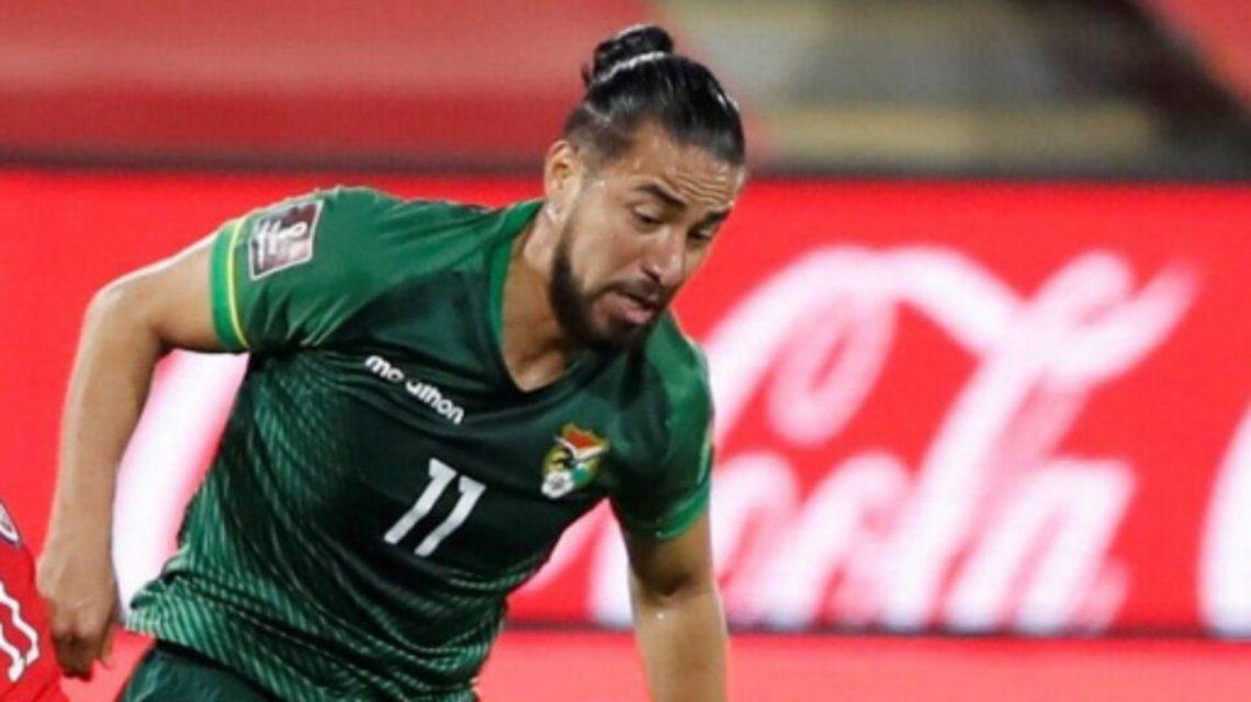 Rodrigo Ramallo ingresaría en el ataque de la selección de Bolivia