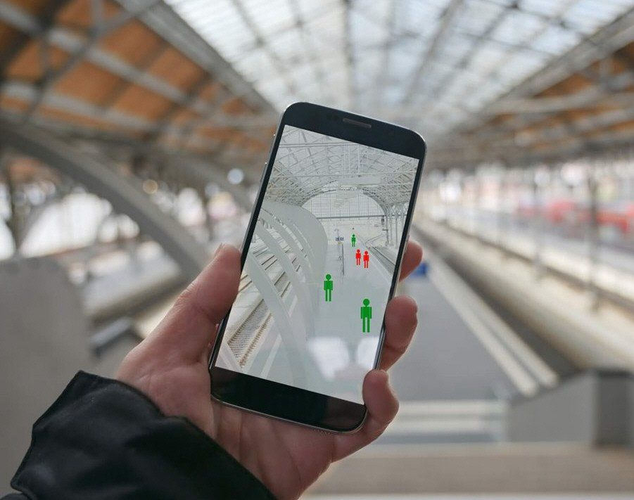 Las aplicaciones de rastreo son compatibles con Android y iPhone.