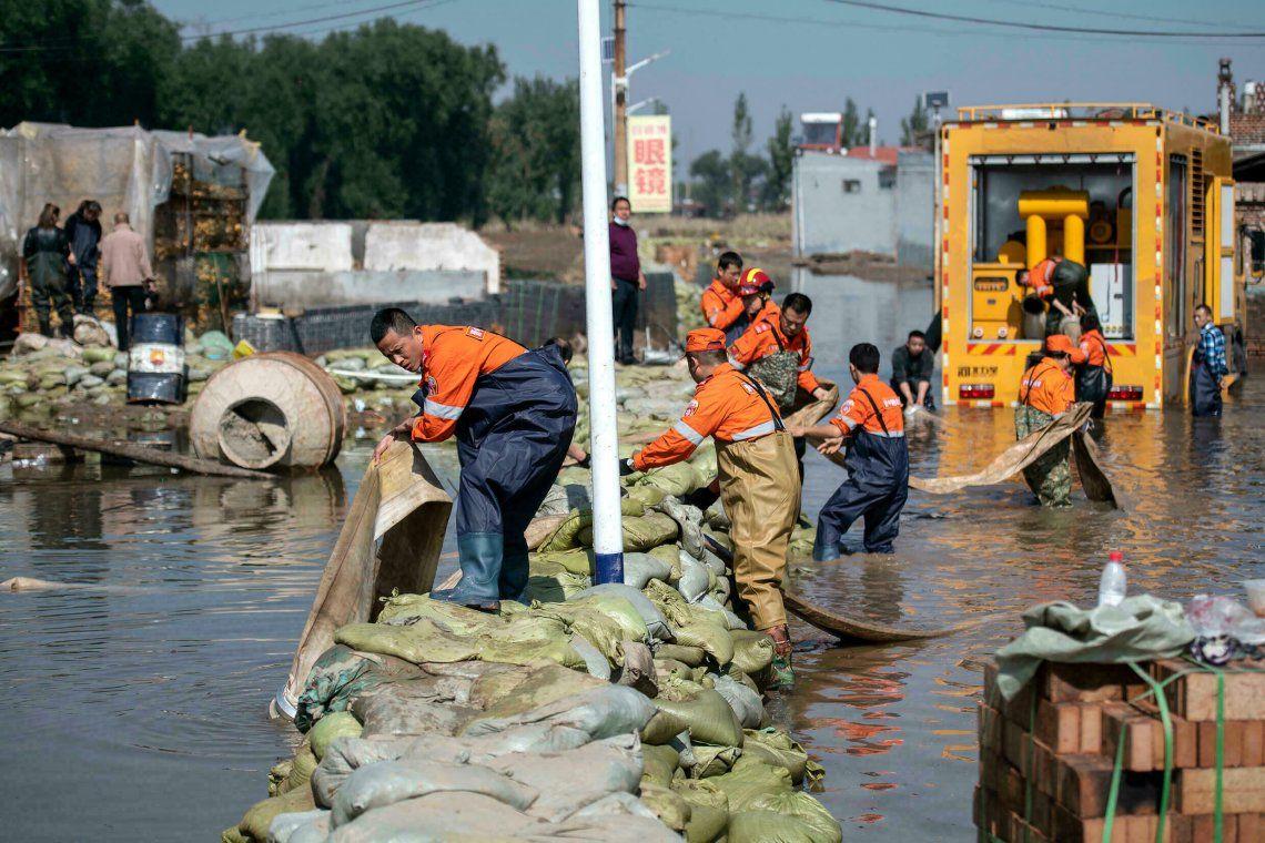 China: las tormentas dejan 15 muertos y tres desaparecidos