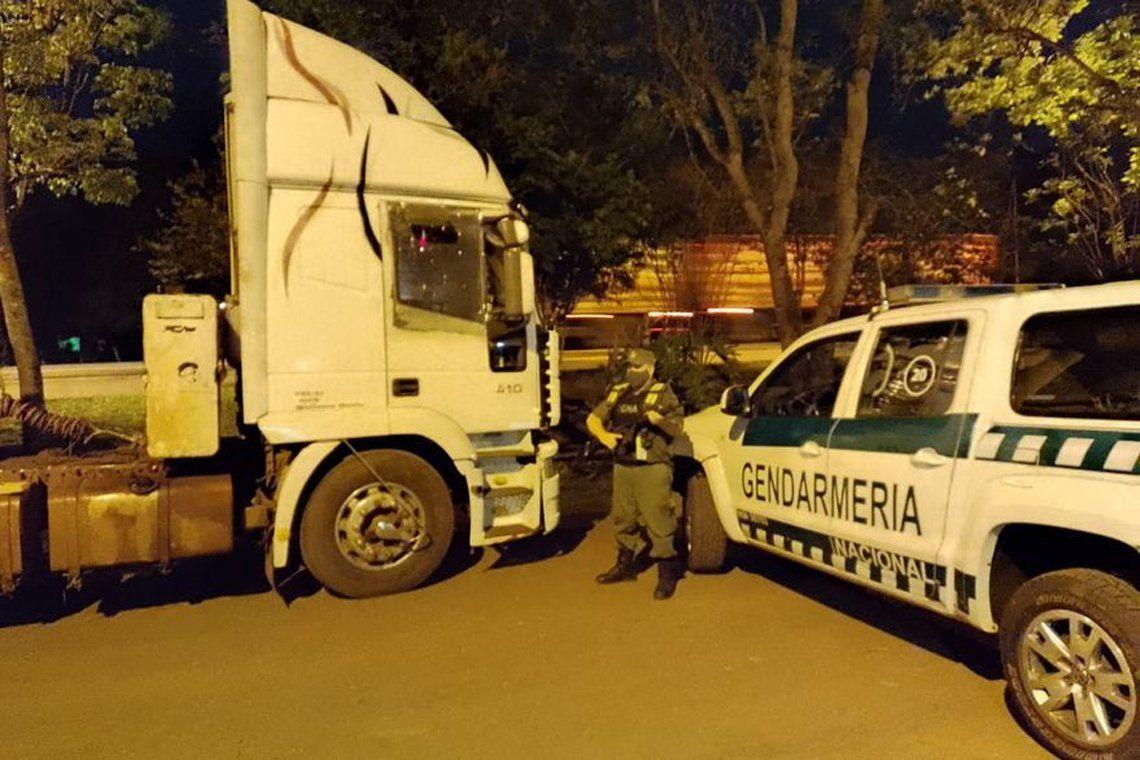 Operativo de Gendarmería.