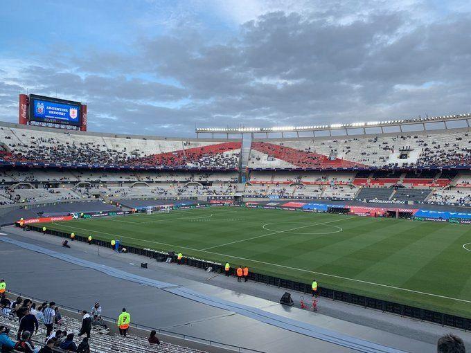 Selección argentina: los hinchas ya copan El Monumental