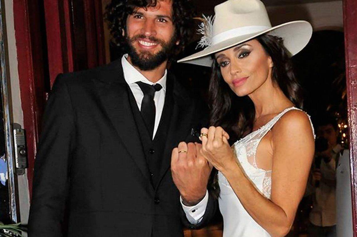 Paz Cornú se casó con su joven novio