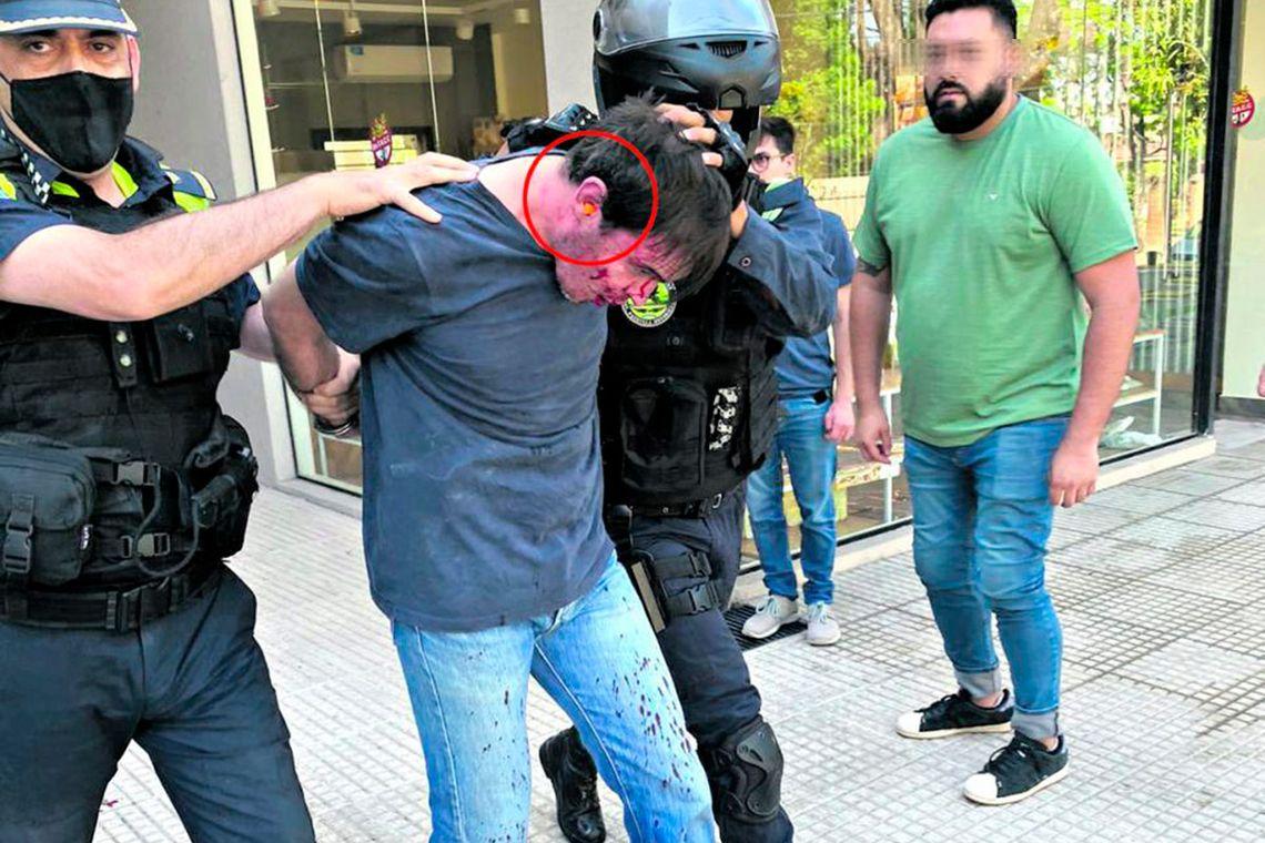 Gerónimo Helguera disparó en una oficina con la aparente intención de matar a un excompañero de colegio. Foto: La Gaceta.