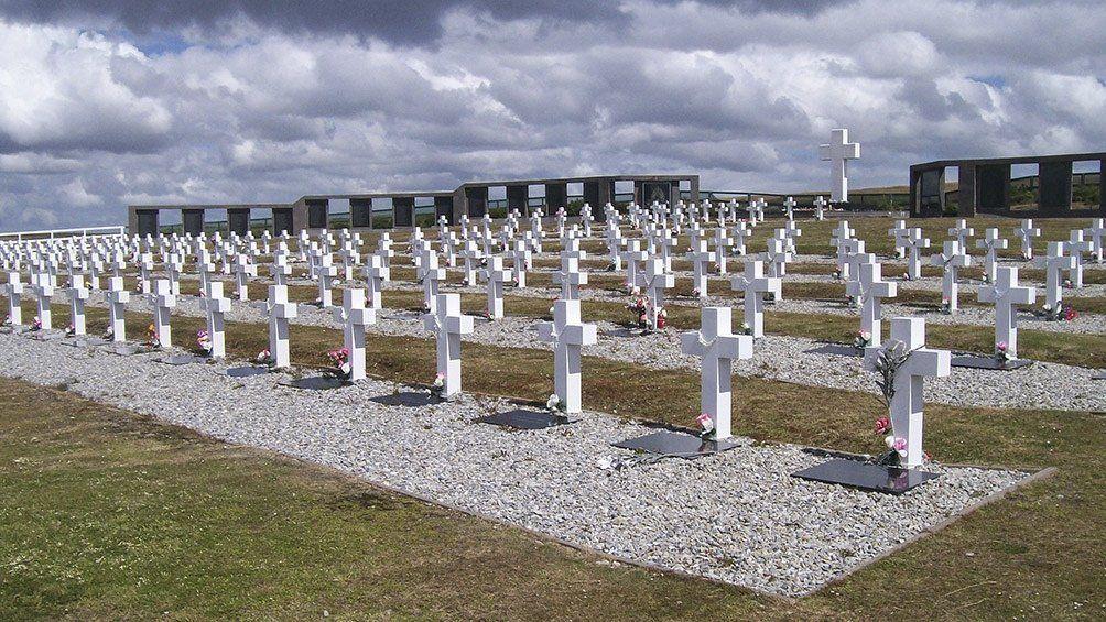Cementerio de Darwin.