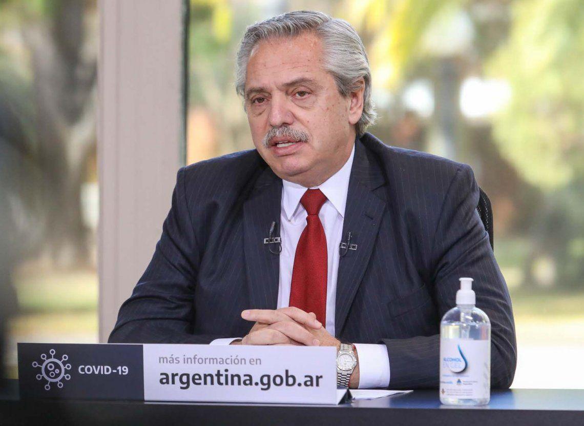 Alberto Fernández anunció que sigue el aislamiento hasta el 20 de septiembre y que habrá reuniones al aire libre