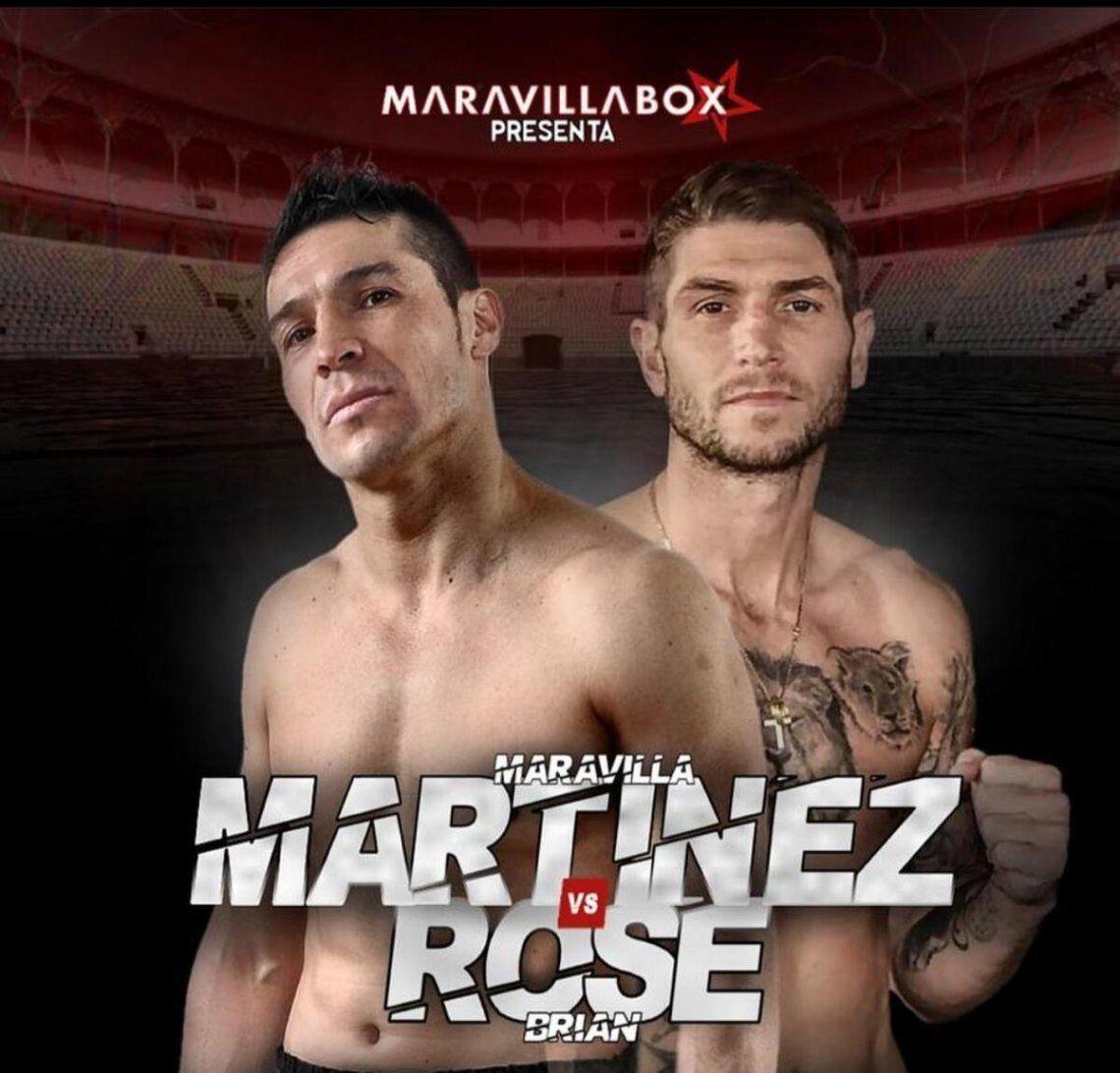 Maravilla Martínez peleará con Brian Rose.