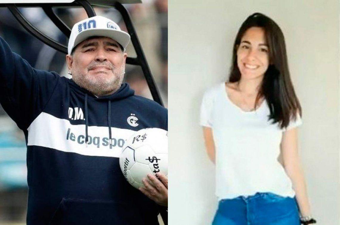 A Diego Maradona le apareció una hija de 23 años y una nieta