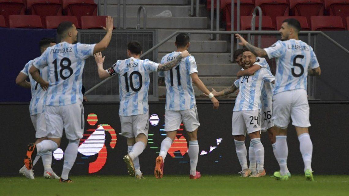 Argentina tiene todo listo para asegurar el segundo puesto.