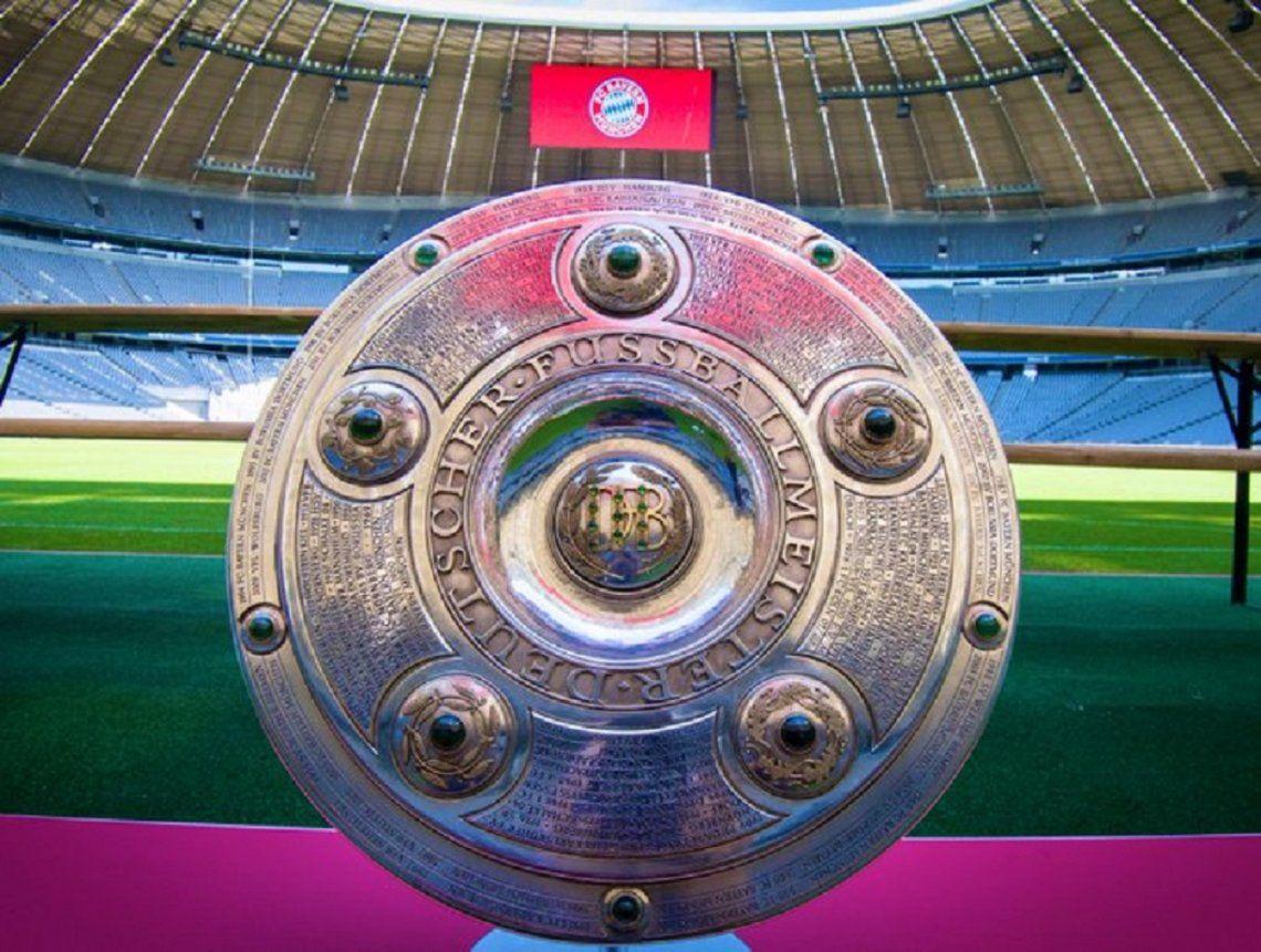 El gobierno de Alemania autorizó la reanudación de la Bundesliga para mediados de mayo