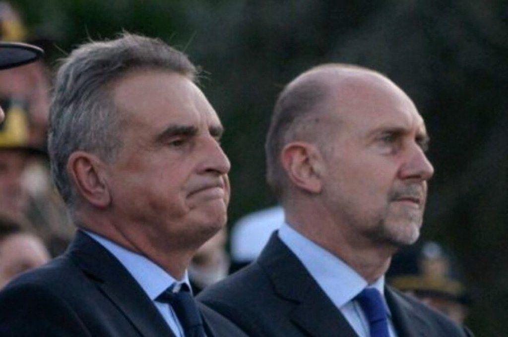 El ministro de Deefensa Agustín Rossi y el gobernador Omar Perotti serán rivales en las PASO.