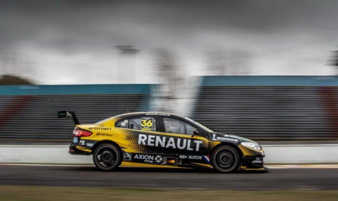 Damián Fineschi brilló en el autódromo de Buenos Aires