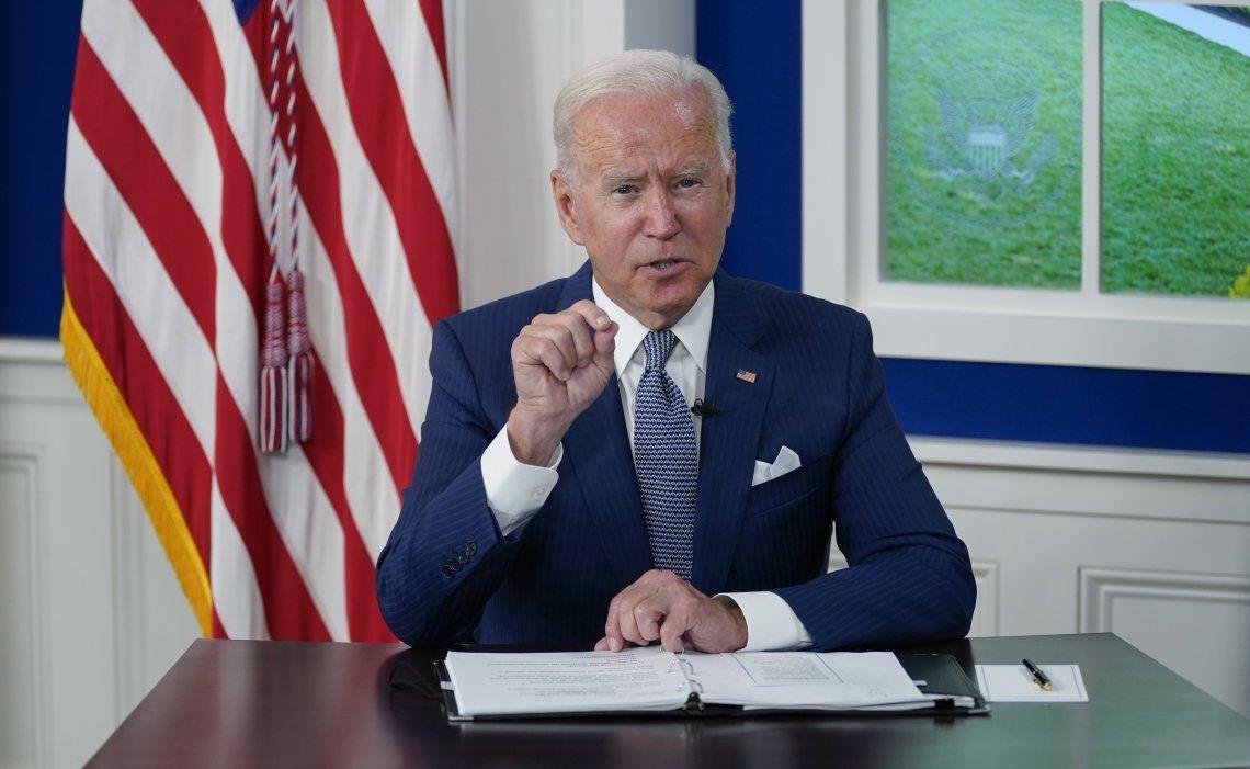 Según comunico Biden