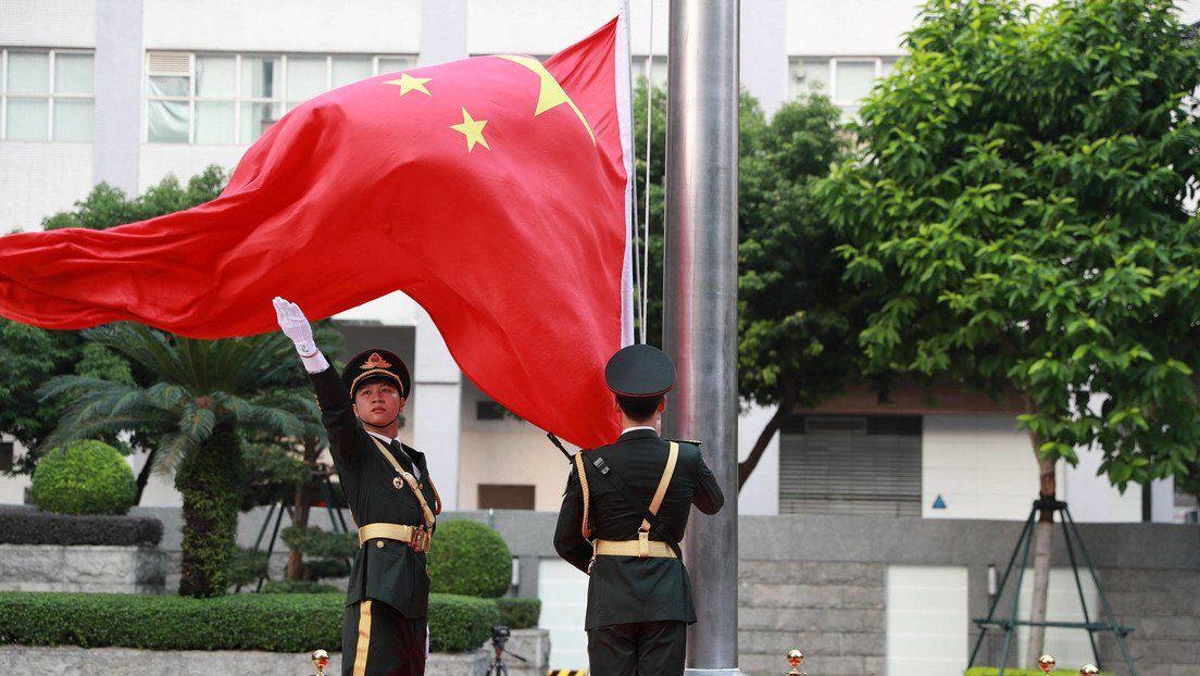 China amenazó con aplastar los intentos separatistas de Taiwán.