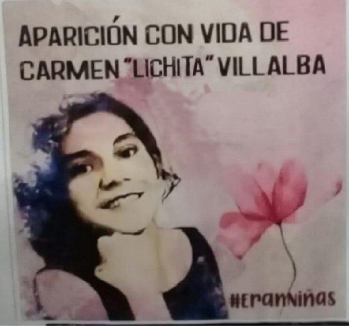 Carmen Elizabeth o Lichita es hija de Carmen Villalba y Alcides Oviedo