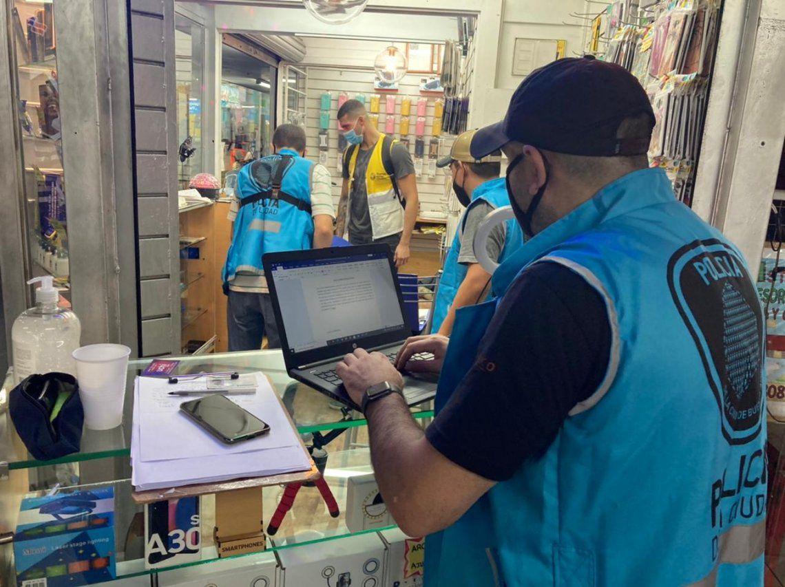 Balvanera: secuestraron celulares robados y detuvieron a 9 personas