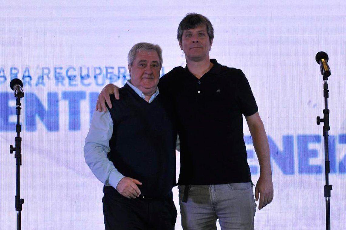Identidad Xeneize: la fórmula Jorge Ameal /Mario Pergolini lanzó su candidatura a la presidencia de Boca