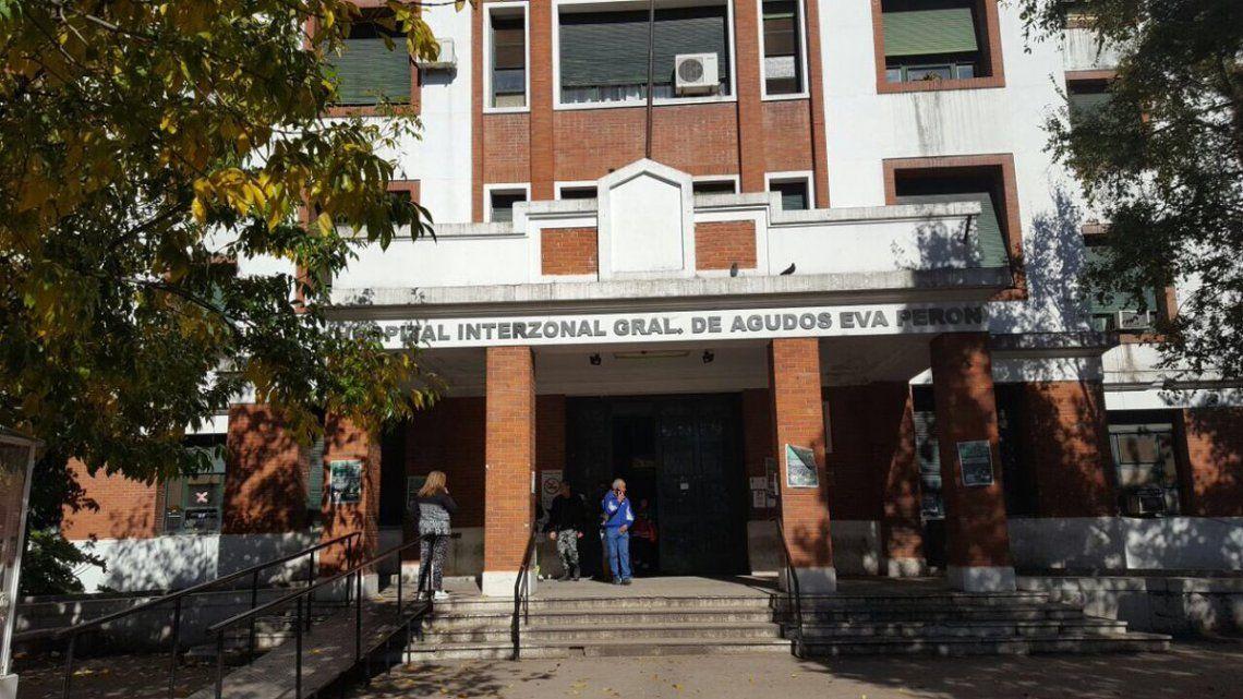 Hospital Evita de San Martín.
