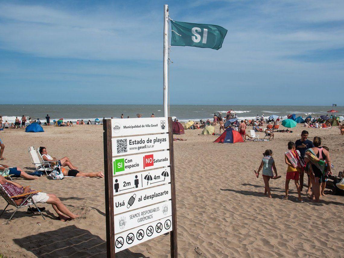 La ciudad que más creció en términos de visitas fue Mar del Plata.