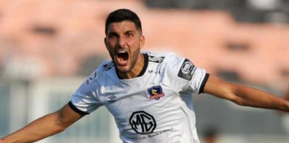 Nicolás Blandi llega desde el fútbol chileno.
