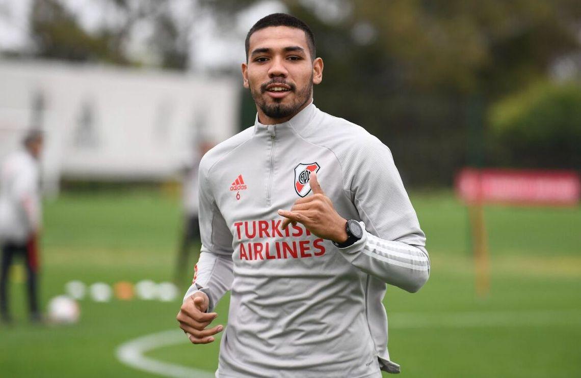 Héctor David Martínez se recuperó de su lesión.