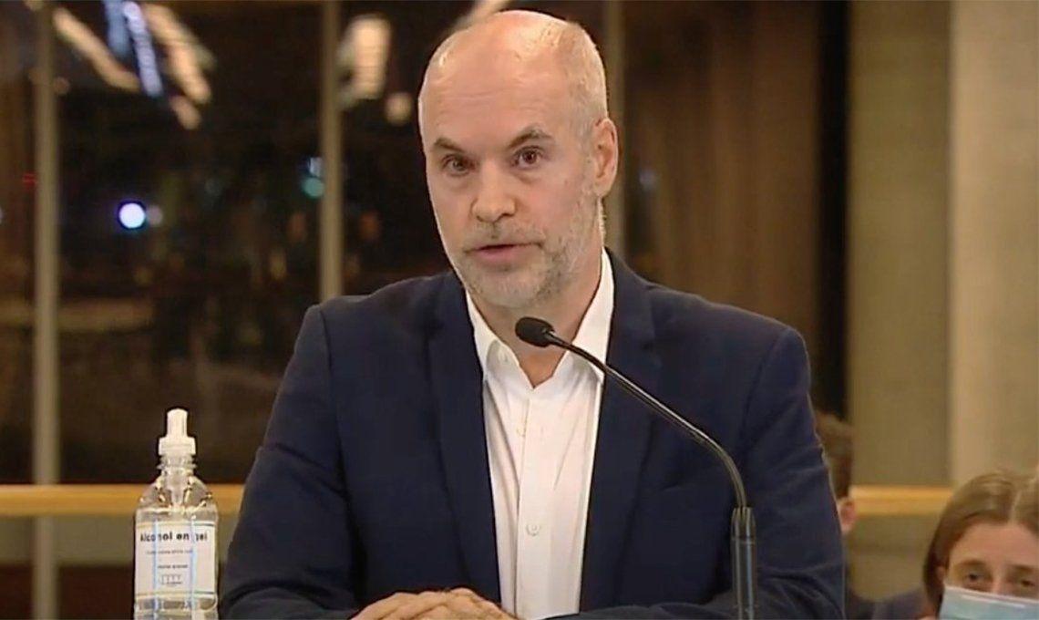 Rodríguez Larreta fue denunciado por sedición