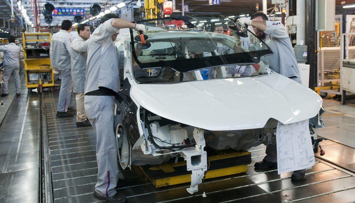 Creció la producción automotriz.