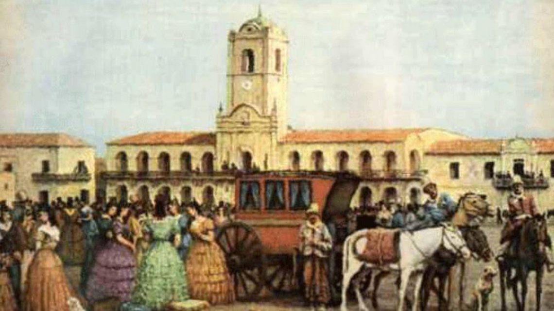 25 de Mayo de 1810, primer gobierno patrio.