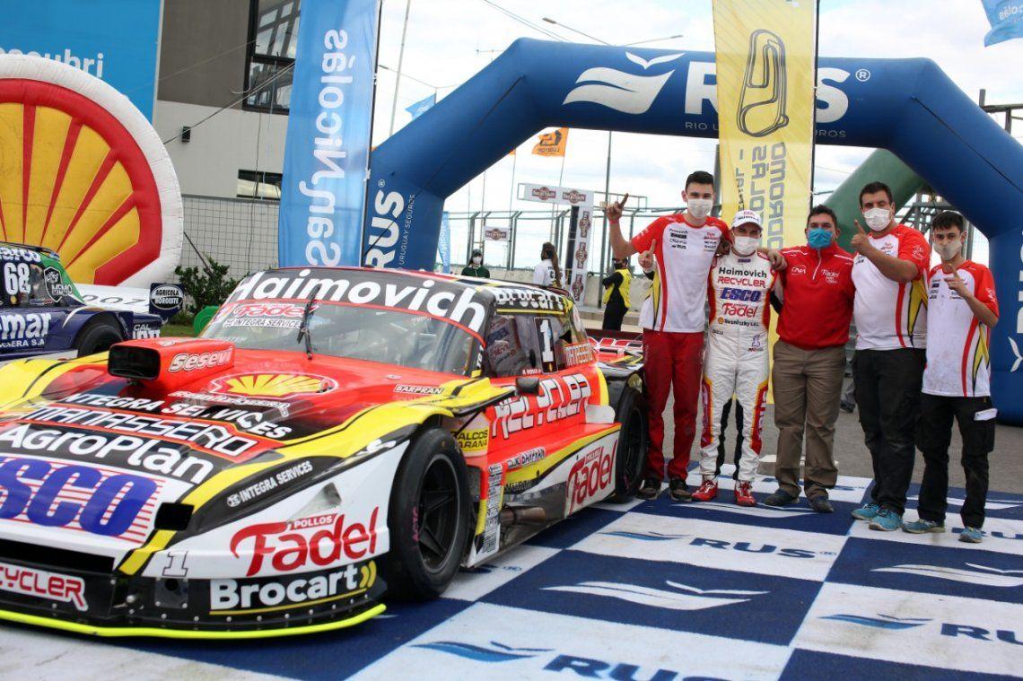 Mariano Werner hizo la pole position en el Turismo Carretera