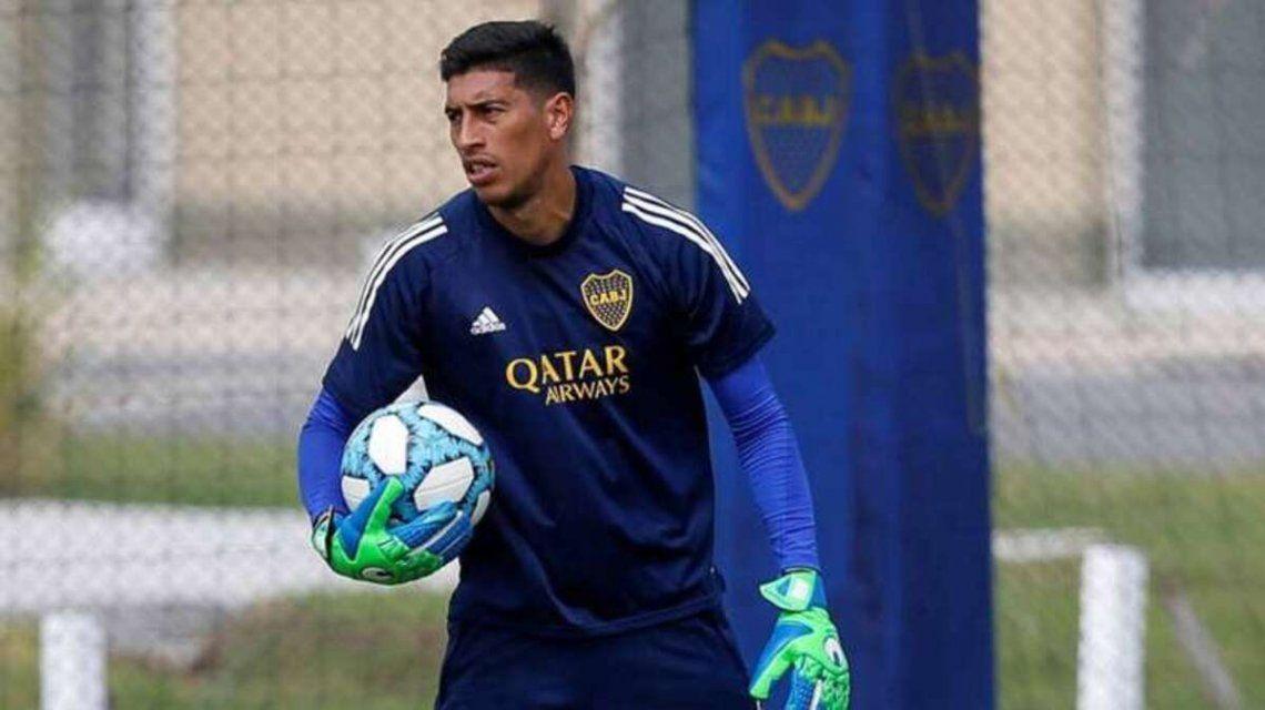 Esteban Andrada sería titular en Boca el jueves ante Barcelona