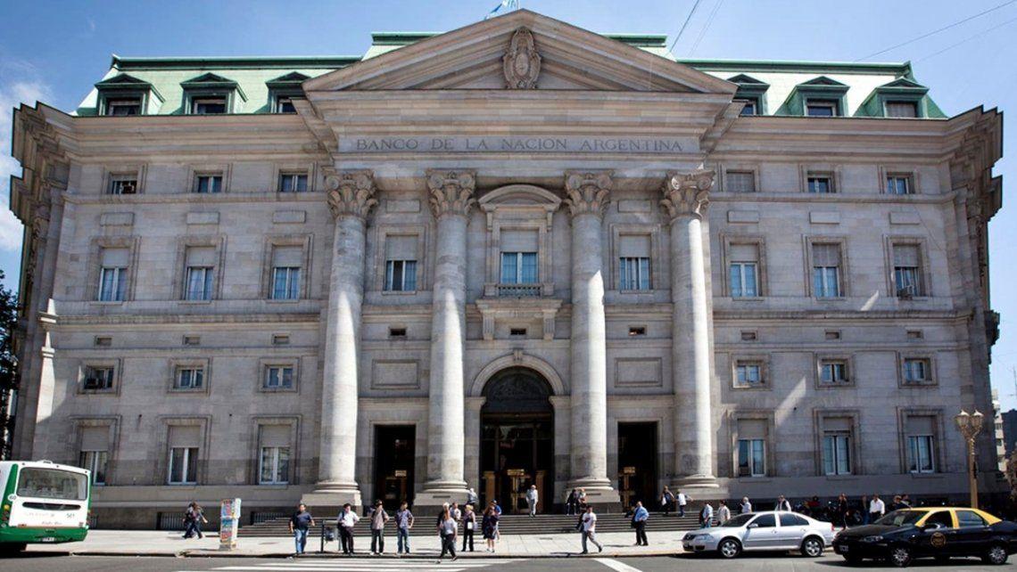 Casa matriz del Banco Nación.