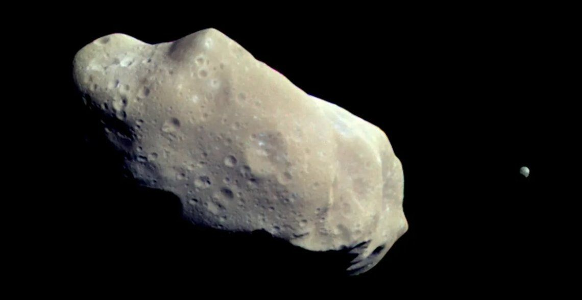 La NASA estudia al asteroide