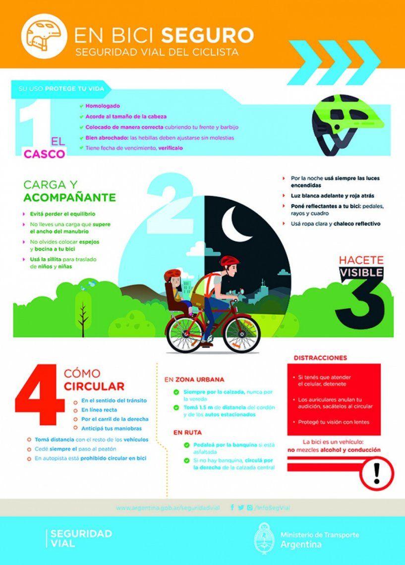 Día Mundial de la Bicicleta: cómo usarla de manera segura