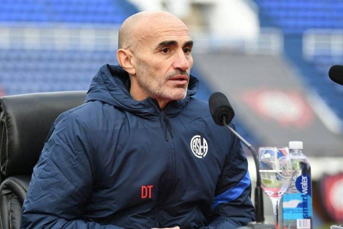 Paolo Montero se declaró responsable de la goleada sufrida por el Ciclón