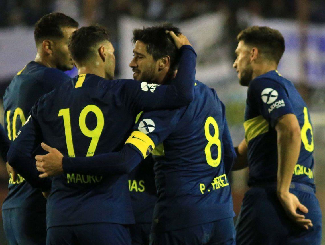 Copa Argentina: Boca comenzó la temporada con una goleada ante Alvarado de Mar del Plata