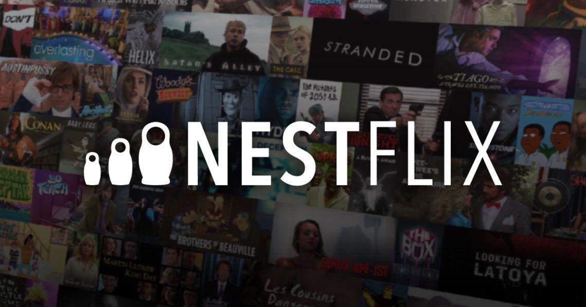 Lanzan Nestflix, una plataforma de películas y series falsas