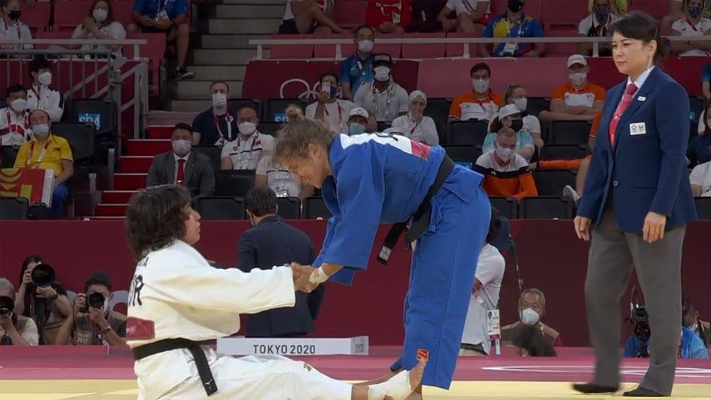 Paula Pareto perdió con la portuguesa Catarina Costa en lo que fue su despedida olímpica.