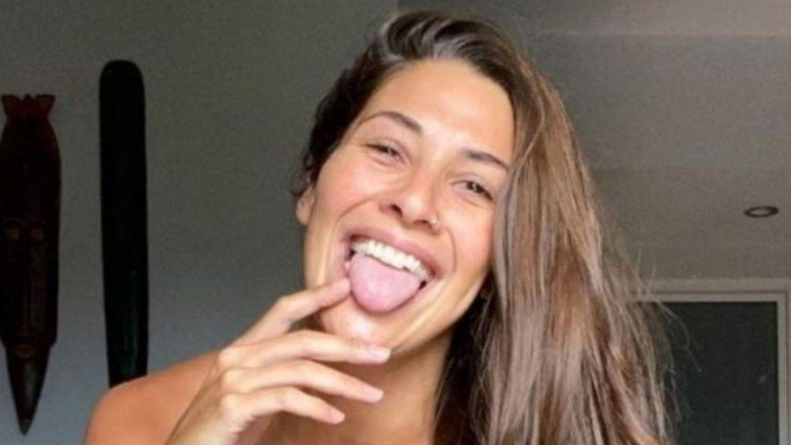 Ivana Nadal publicó una foto con su novio en la cama
