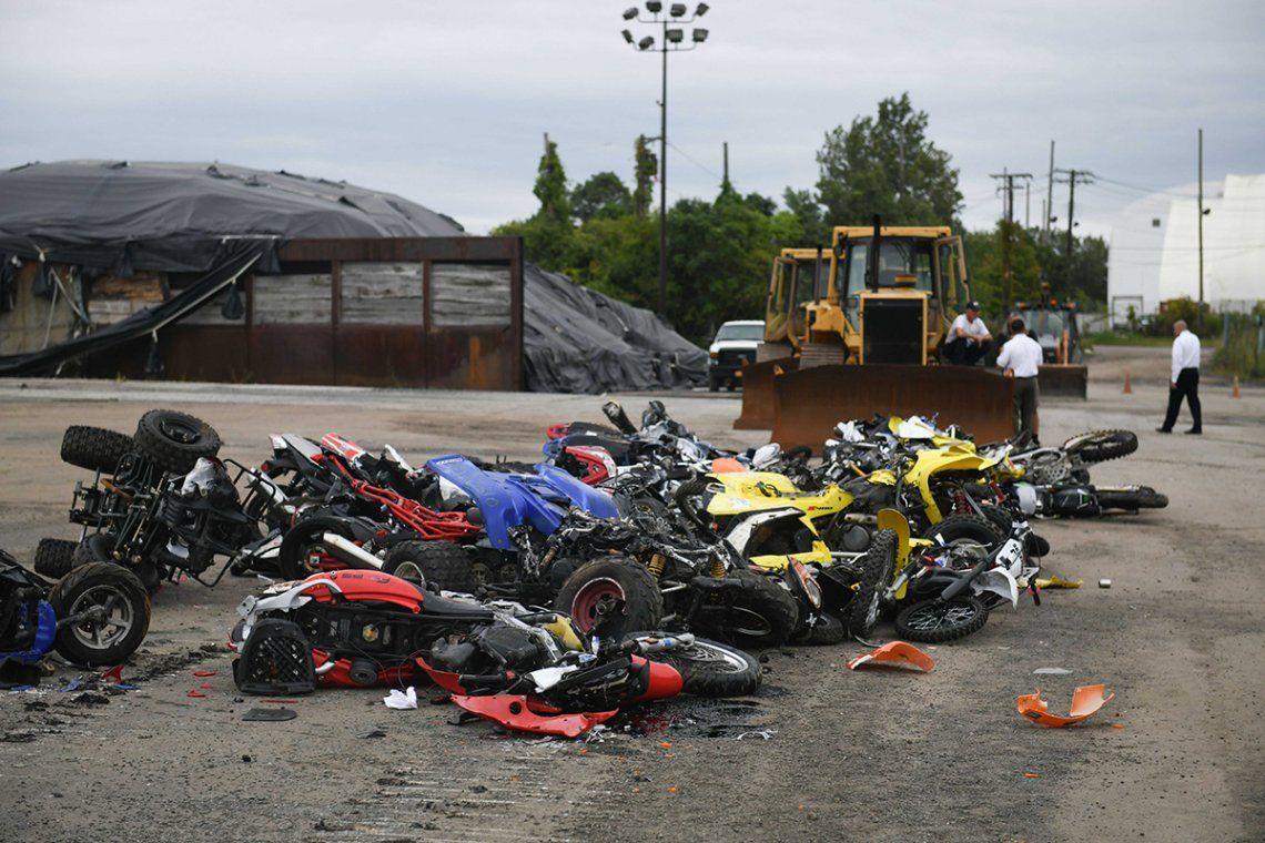 Las autoridades afirman que estos vehículos no están debidamente equipados para su uso en la ciudad.