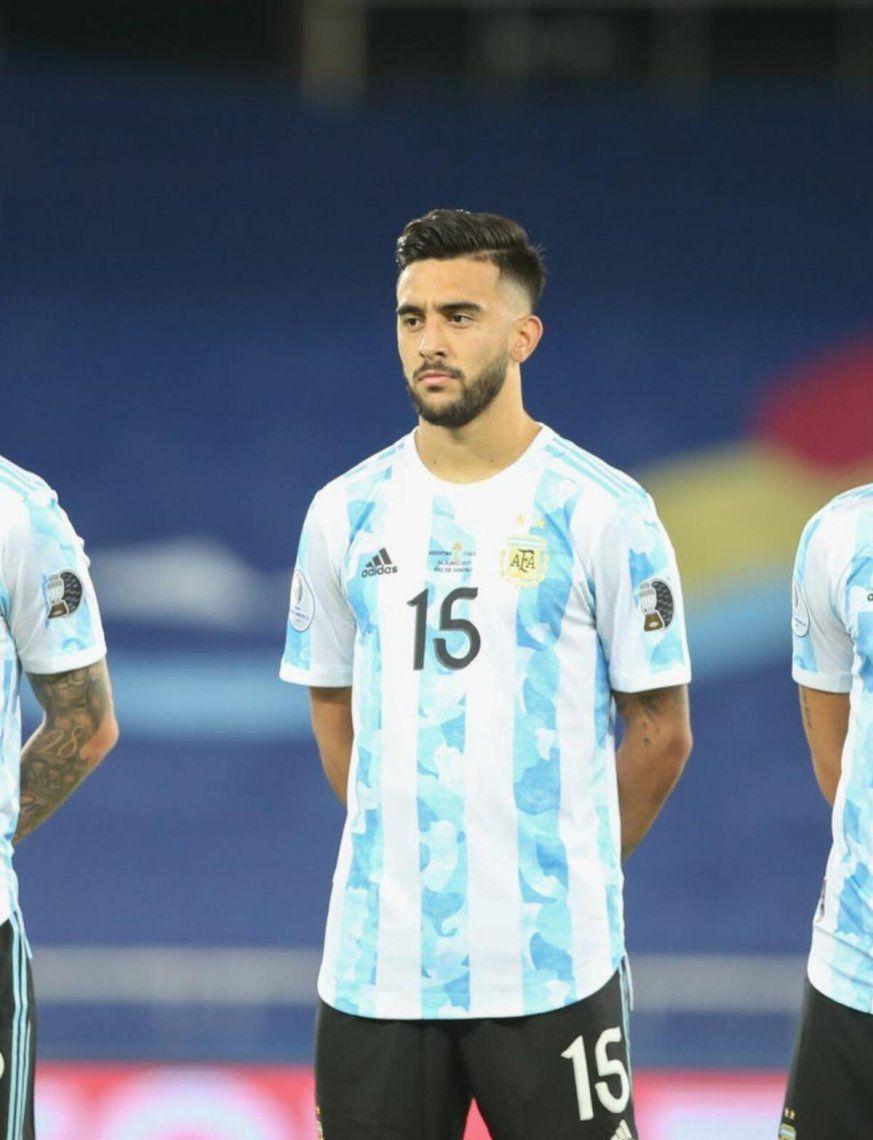 Nicolás González comentó el partido de Argentina.