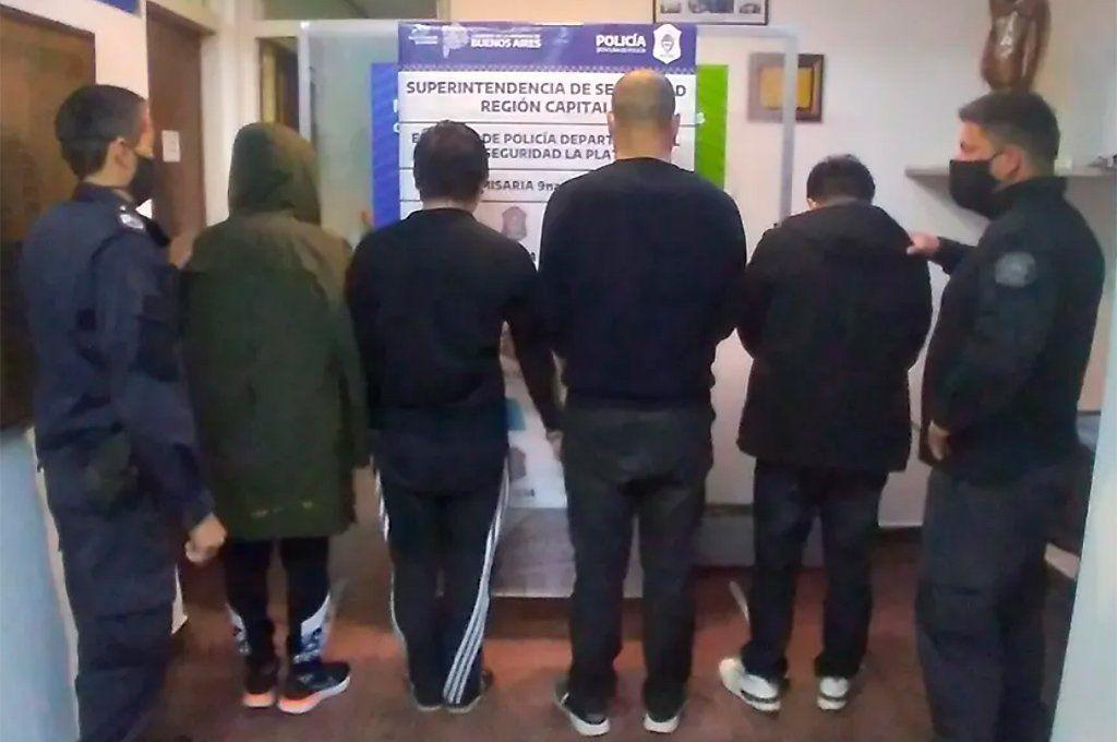 Cuatro detenidos, todos ciudadanos chinos, fueron detenidos en La Plata.
