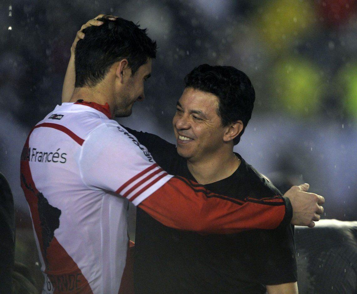 Alario: Gallardo está entre los mejores entrenadores del mundo