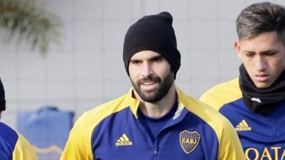 Nicolás Orsini sigue sin tomar parte de las prácticas de fútbol