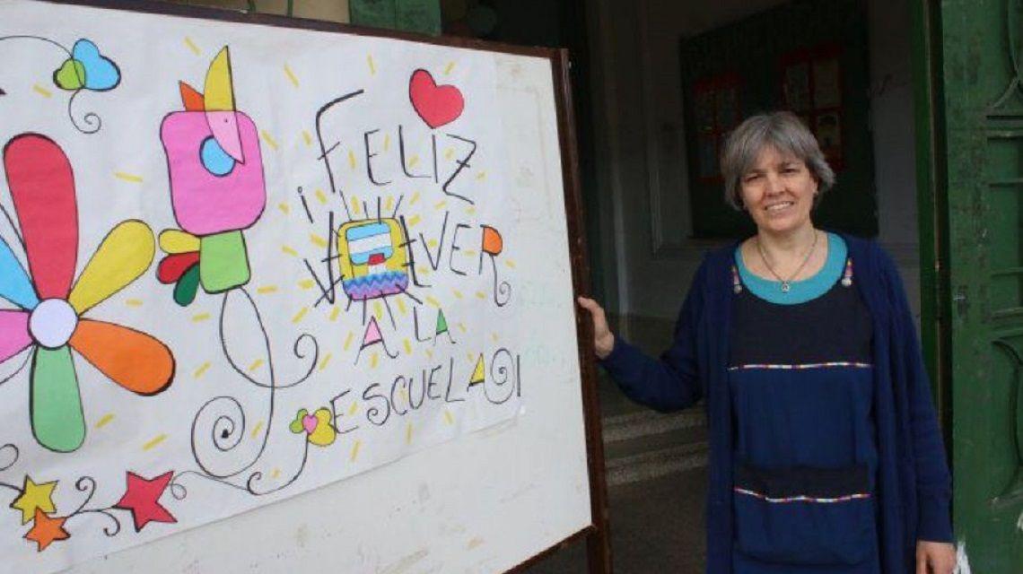 Una docente argentina fue elegida una de las diez mejores del mundo