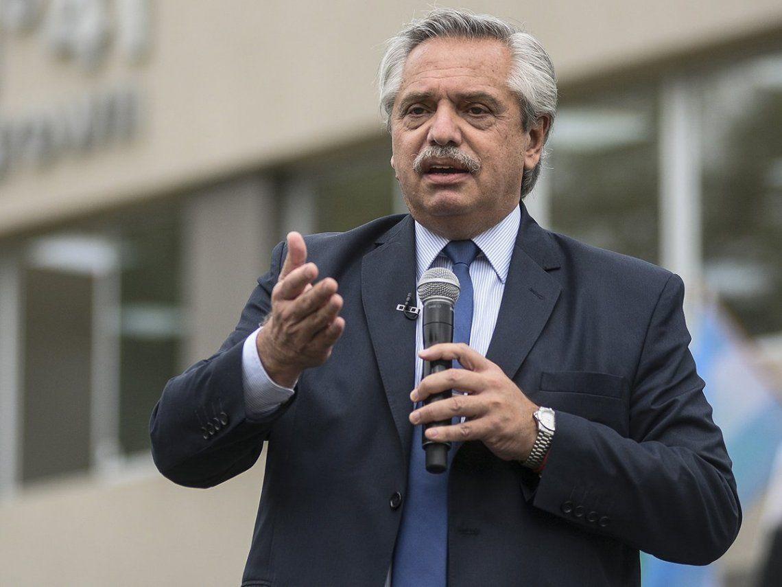 El presidente Alberto Fernández no viaja a México.