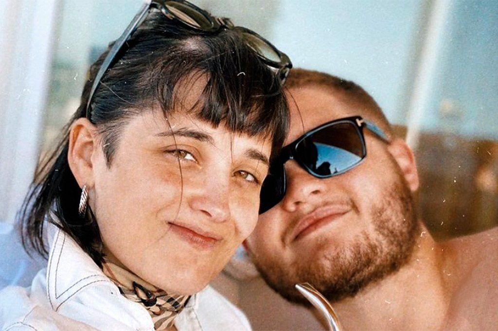 Florencia Torrente y su hermano Tomás Toto Kirzner. Archivo.
